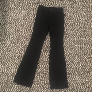 J Brand The Doll High-rise Black Jeans